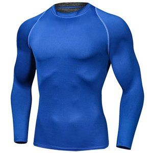 Mens Long Sleeve Compression Tee